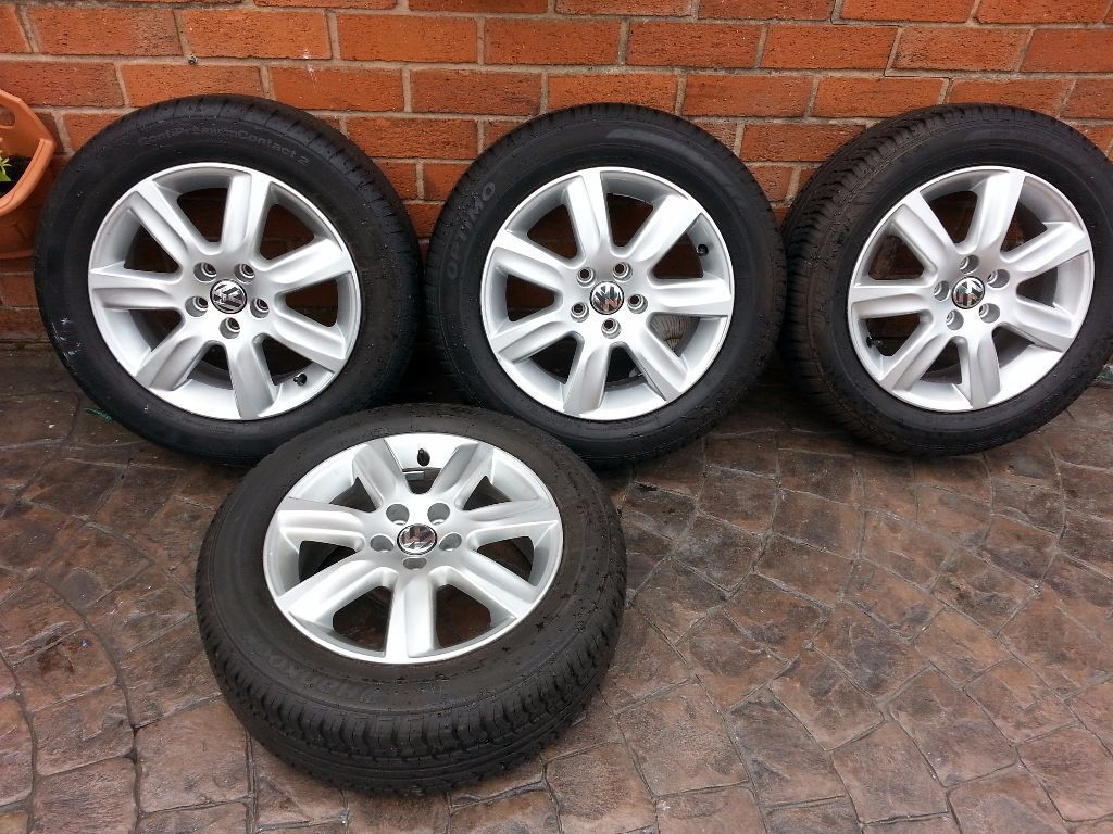 Tyres In Crewe Genuine Vw Alloy Wheels 15 Quot 185 60 15 Tyres Polo 5x100