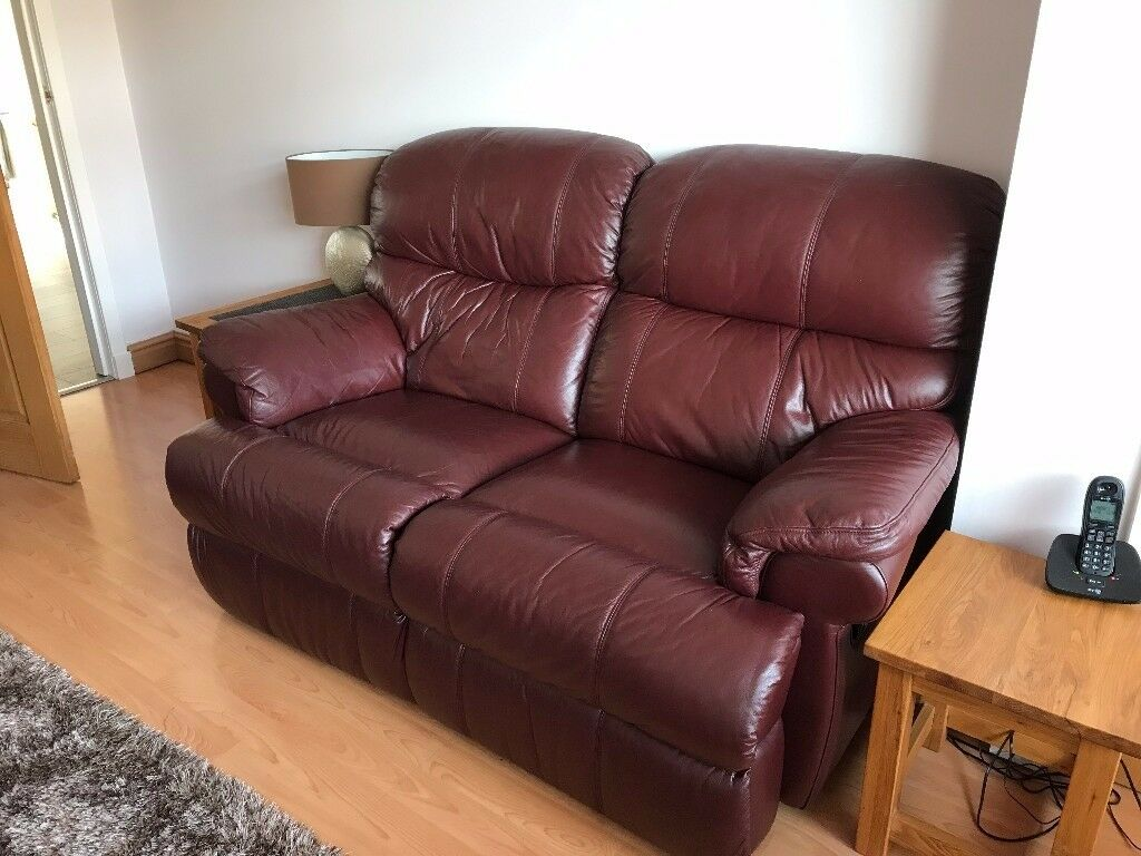 Leather Recliner Gumtree Glasgow 2 Rialto Recliner Leather Sofas In Glasgow City Centre