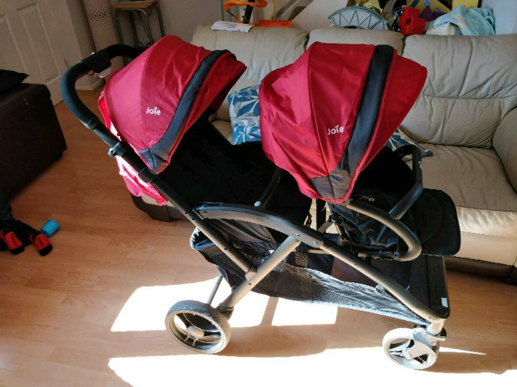 Double Buggy Out N About Joie Evalite Duo Double Tandem Buggy Stroller In