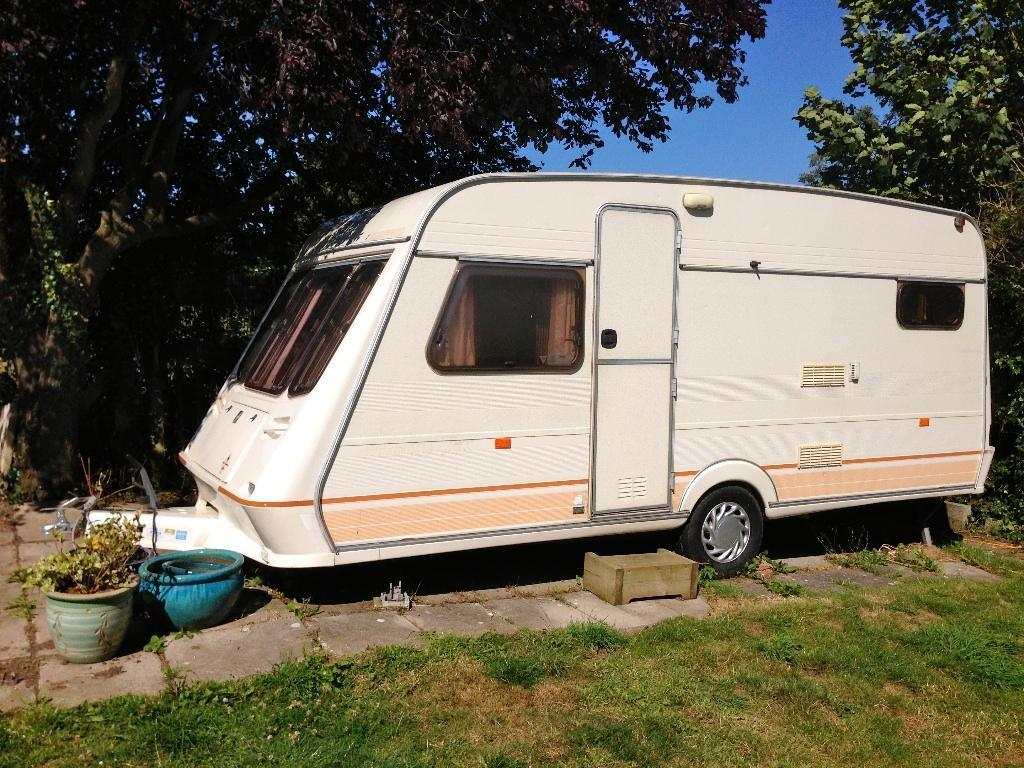 1994 Fleetwood Garland 148 4 Ek 4 Berth Caravan In