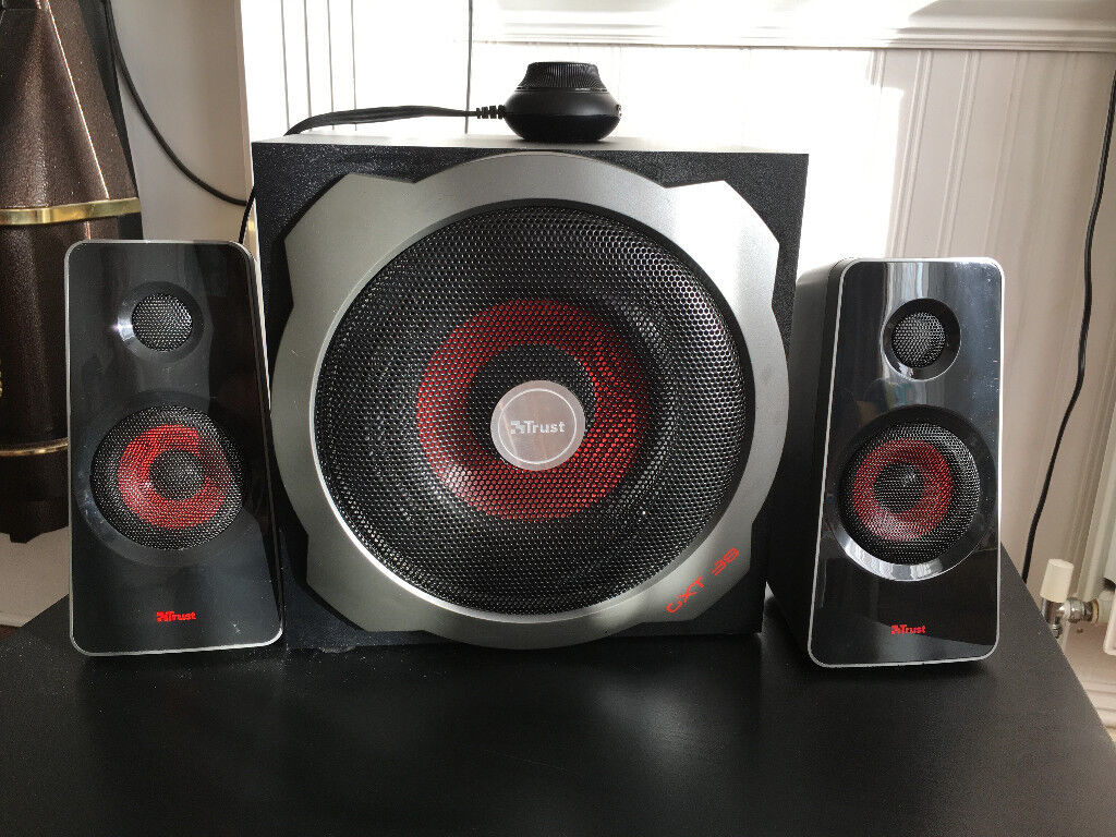 Trust Tytan 21 Speaker System With Subwoofer 120w In