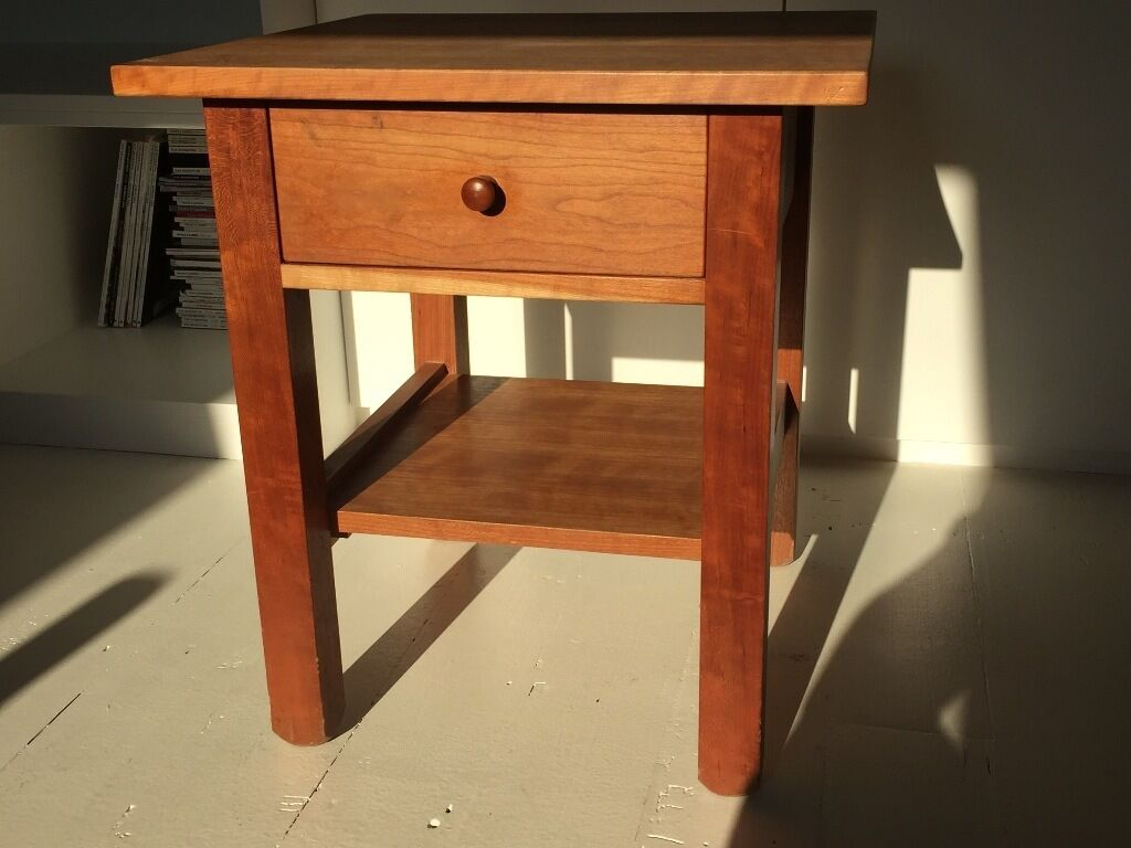 Second Hand Bedside Tables Heals Bedside Tables In Cherry Wood And Shaker Style In