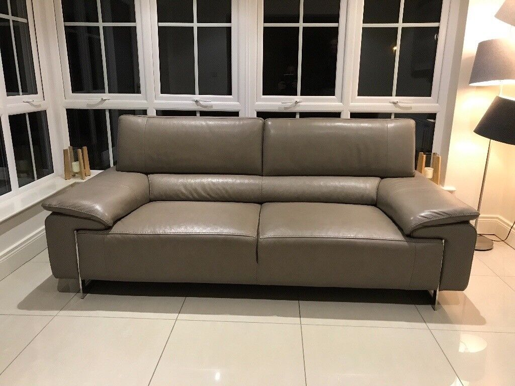 Grey Sofa Gumtree Belfast Harvey Norman 3 Seater Lorenzo Leather Sofa | In Dundonald