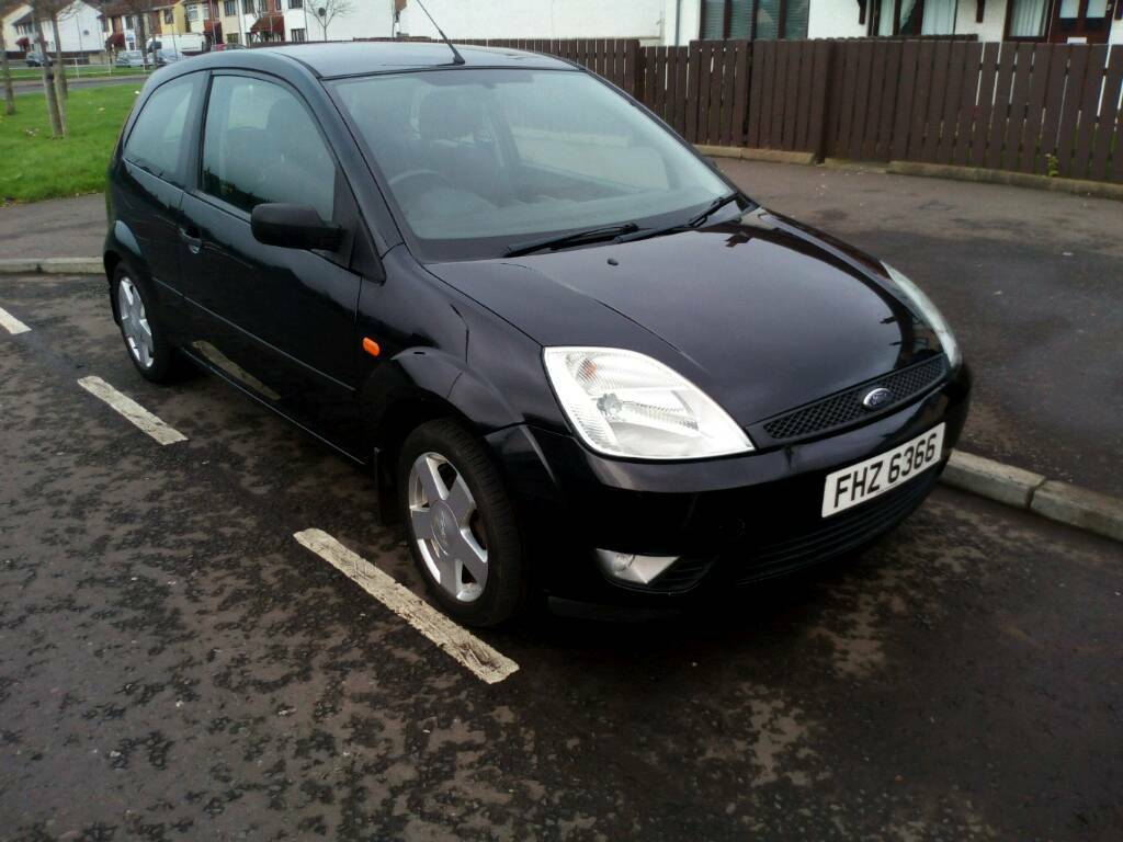 All Black Ford Fiesta Black Ford Fiesta 2004 Full Years Mot In Carrickfergus