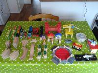 ELC Wooden Train Set and trains 100 pieces (compatible ...