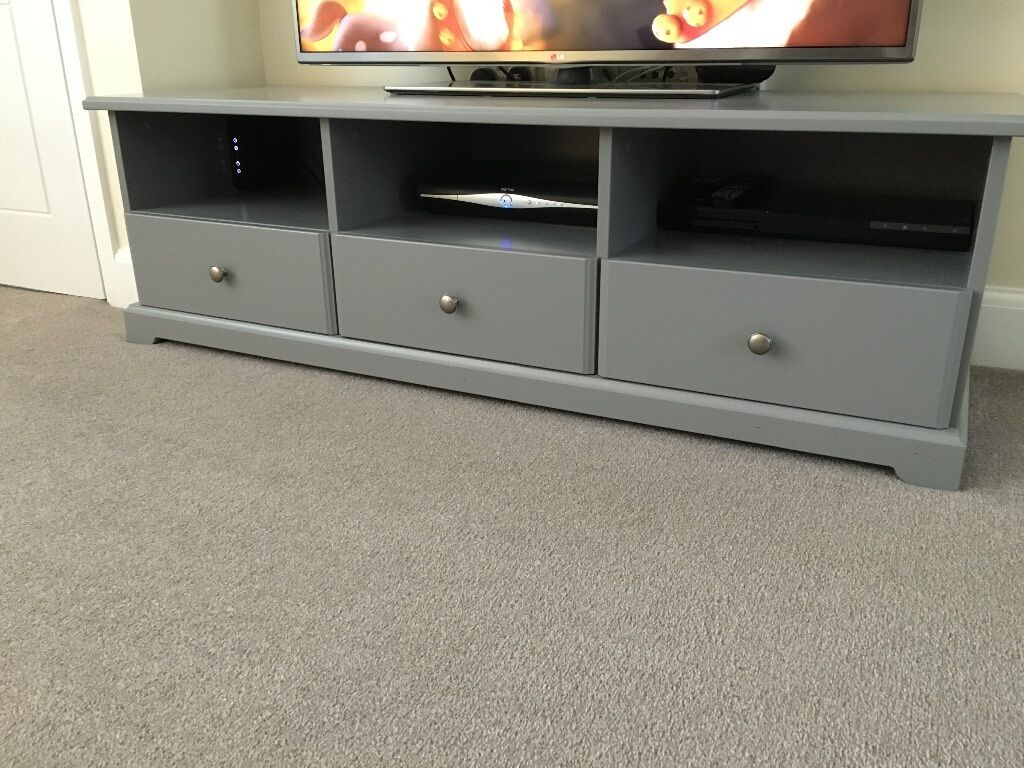 Vintage Sideboard Yorkshire Ikea Liatorp Grey Tv Unit | In Harrogate, North Yorkshire