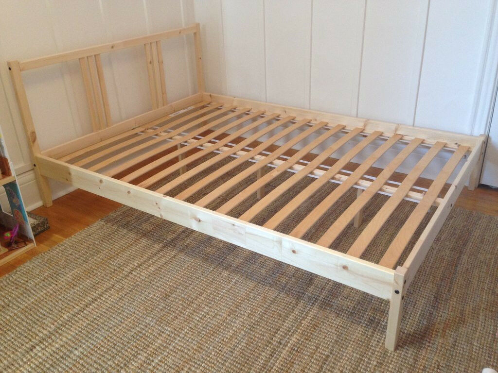 Double Beds Ikea Ikea Fjellse Double Pine Bed Frame New In Packaging In
