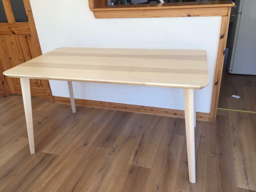 Ikea Lisabo 6 Seater Dining Table In Dunblane Stirling