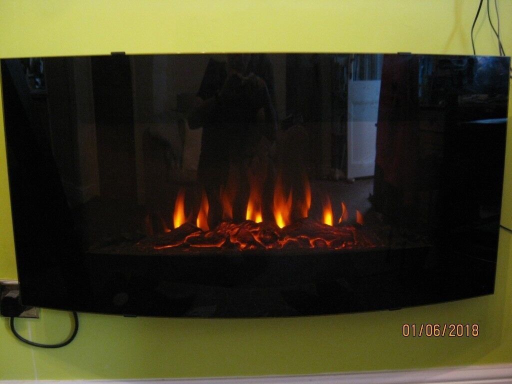 Electric Fire Madison Blyss Max Output 1900 Watt In