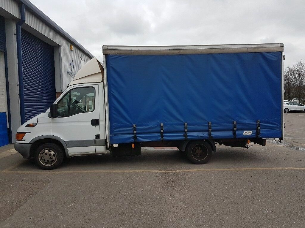 Tyres Direct Luton 2002 Iveco Daily 35c11 Curtain Side In Poole Dorset