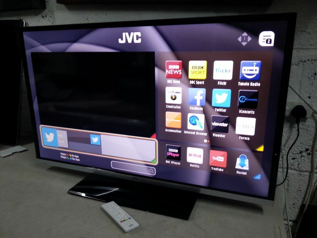 Jvc Tv Jvc Lt 40c755 Smart 40 Quot Led Tv With Built In Dvd Player