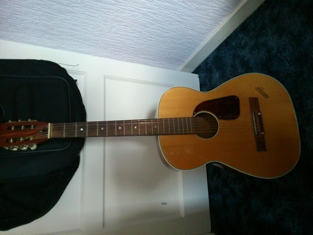Sofas On Gumtree London Genuine Rare 1960's Vintage Eko Acoustic Guitar For Sale