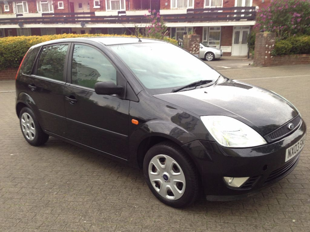 All Black Ford Fiesta Ford Fiesta 2003 Auto Black 5 Door 1 4 Petrol 6 Month Mot