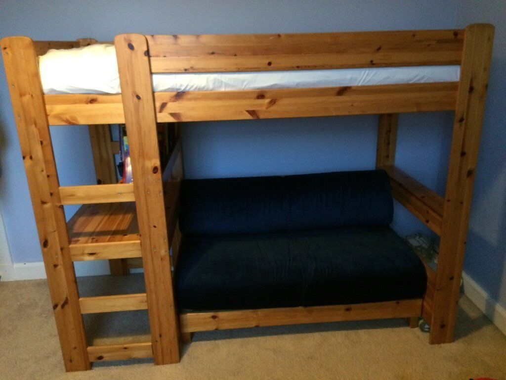 Cabin Bed With Pull Out Desk Stompa Pull Out Sofa Bed Brokeasshome