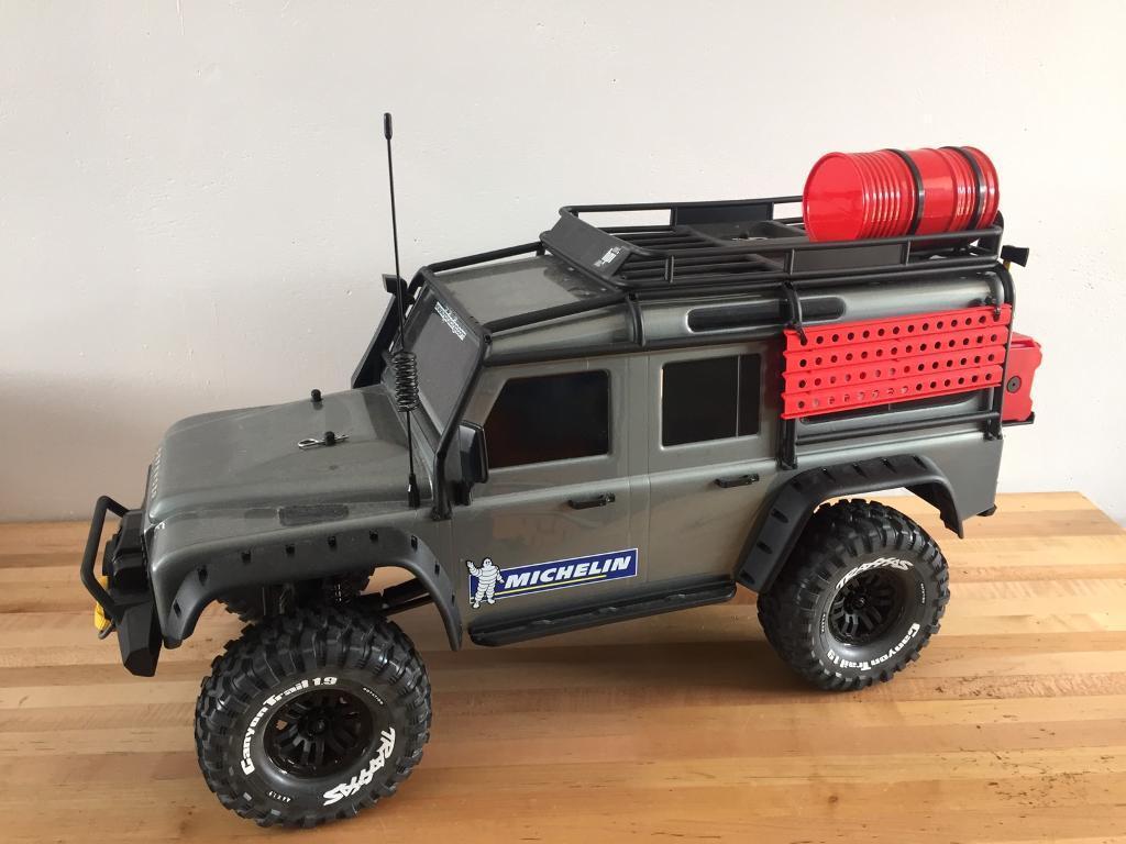 Traxxas Trx4 Trx 4 Land Rover Defender 4x4 Off Road Rc