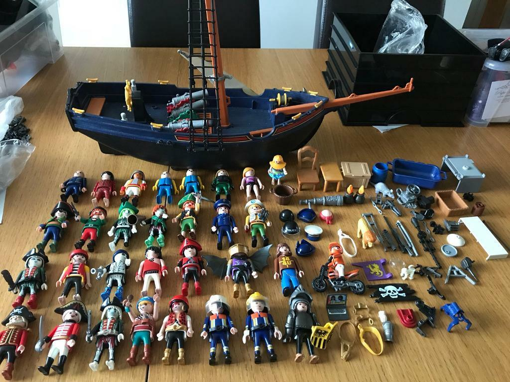 Baby Pram Glasgow Huge Playmobil Bundle Incl Pirate Ship In Southside