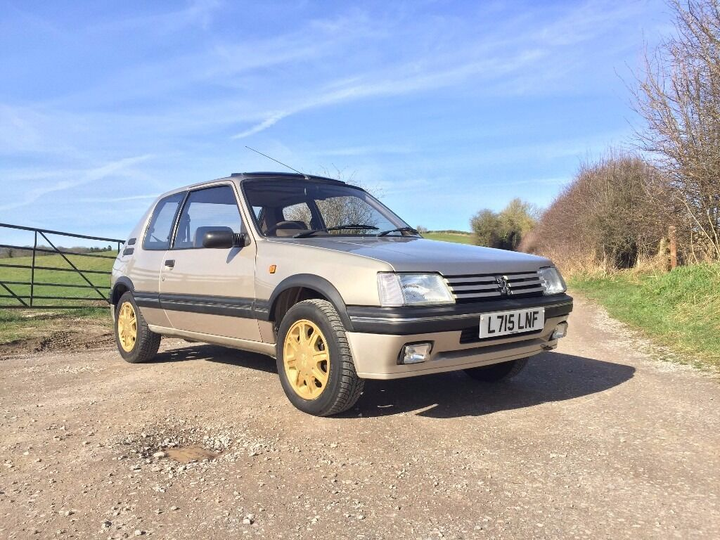 Peugeot First Car Peugeot 205 Stdt 1 Of 53 Perfect First Car Iconic