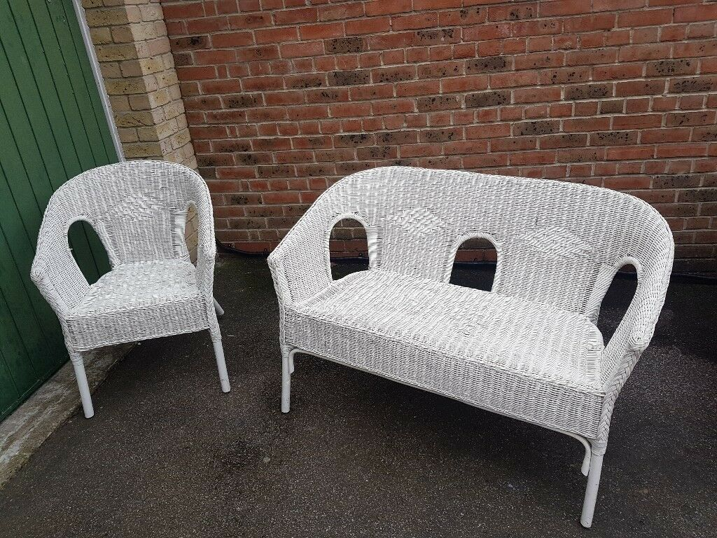 Ikea Rattan Chair White Rattan Ikea Garden Furniture Chairs In Chafford