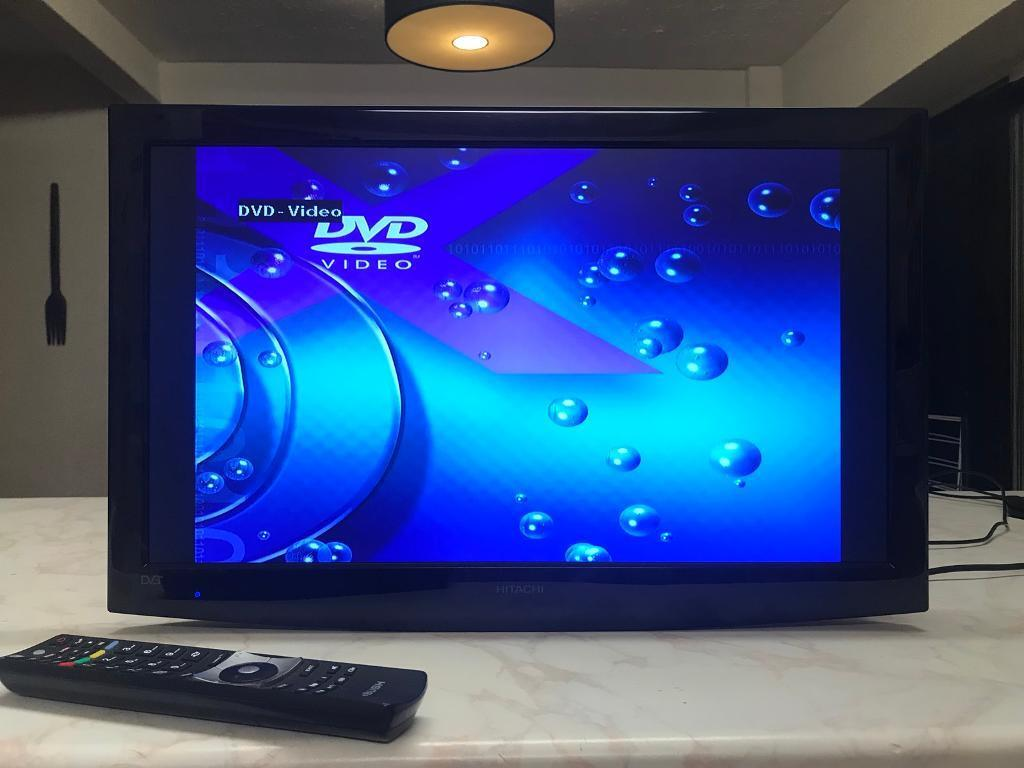 24 Im Tv 24 Inch Hitachi Led Tv Dvd Combo In Swindon Wiltshire