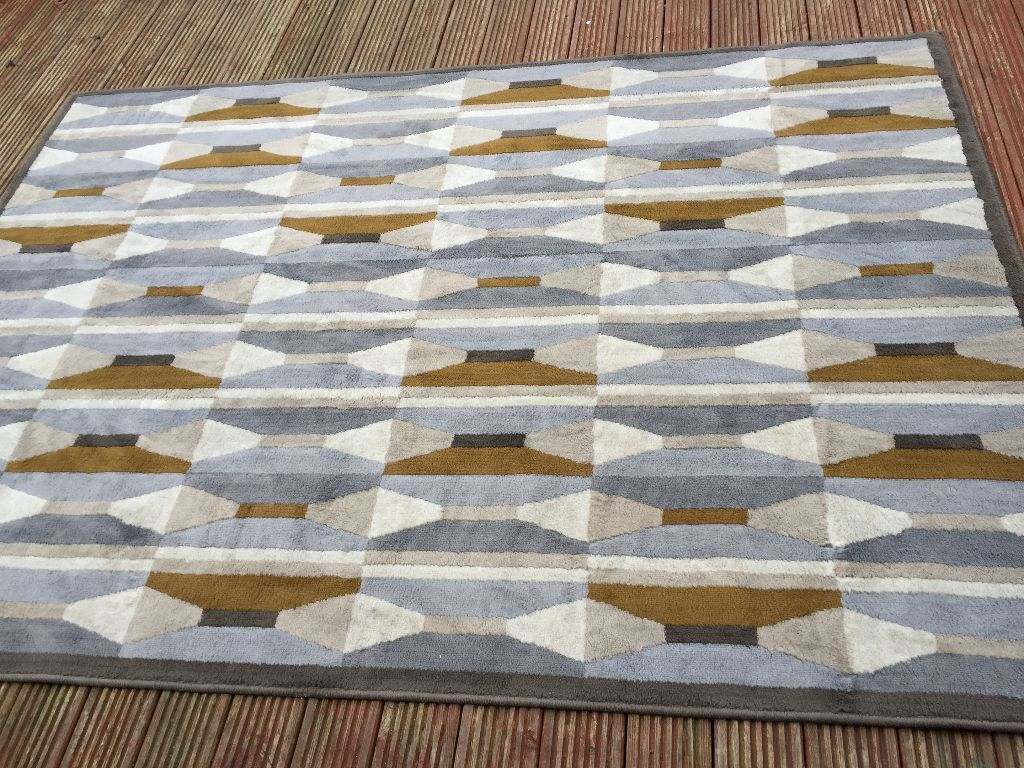 Ikea Vidstrup Rug Architectural 50s Inspired Style In