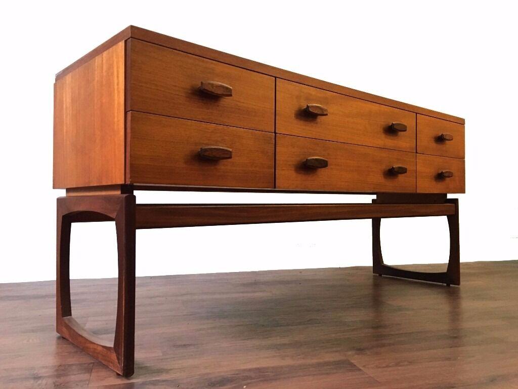 Retro Teak G Plan Quadrille Sideboard Dresser Vintage Mid