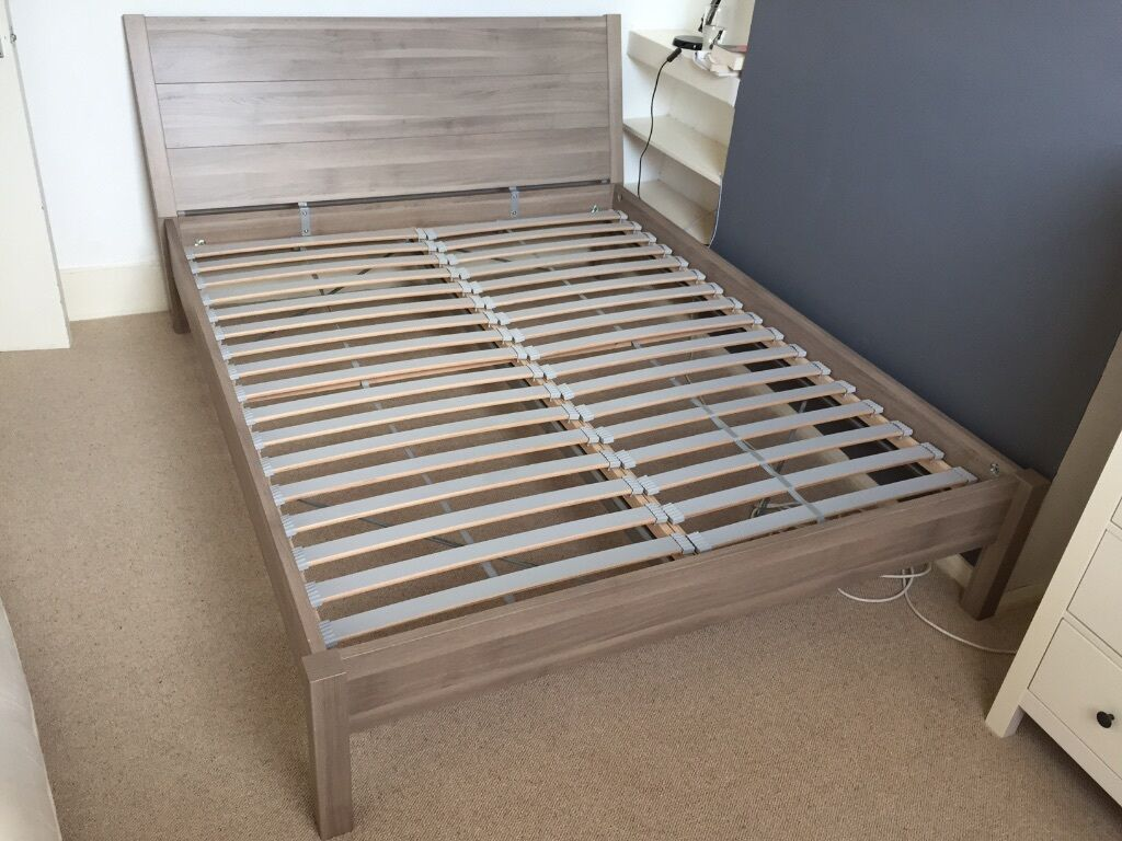 King Size Bed Frame Ikea Nyvoll King Size Bed Frame For Sale In Hackney