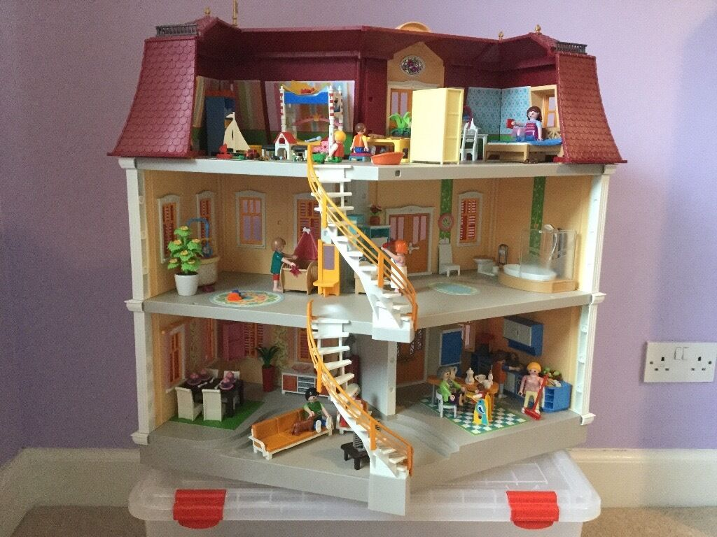 Playmobil Esszimmer 5335 Playmobil Dollhouse Grande Mansion Complete Set In
