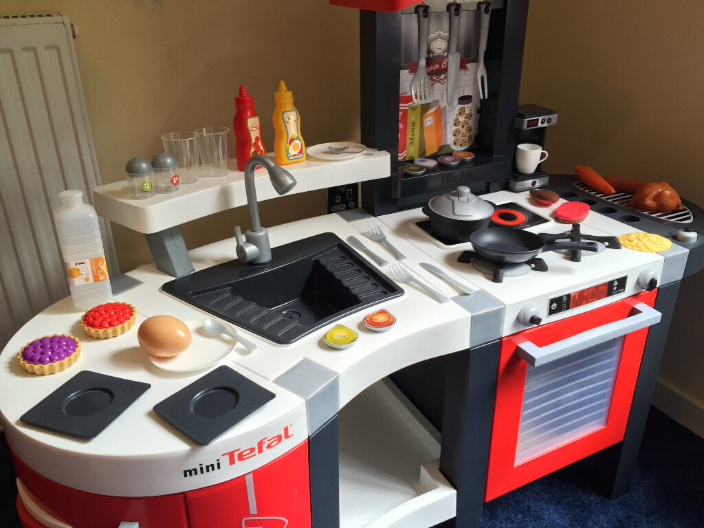 Smoby Tefal Küche Super Chef Excellence Smoby Tefal Super Chef Mini Kitchen Good Condition 3