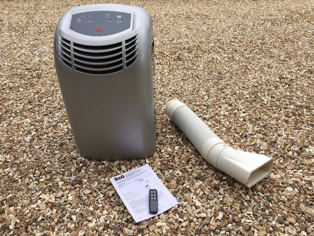 B&Q Portable Air Conditioner (with remote control, vent
