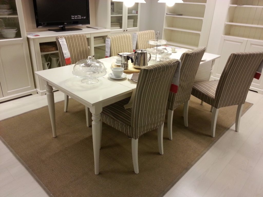 Table Ingatorp Ikea Extendable Ikea Ingatorp White Dining Table Seats 6 And