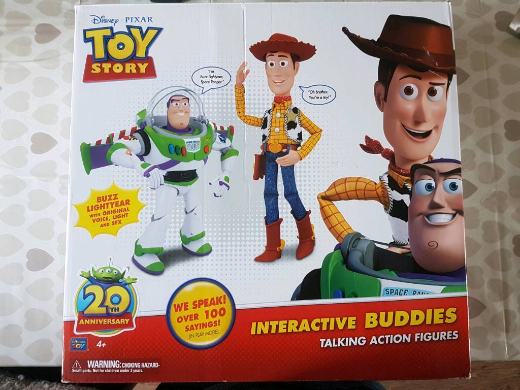 Toy Pram Plastic Toy Story Buzz And Woody Interactive Buddies In Coventry