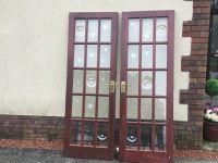 Internal wooden French doors | in Llanelli ...