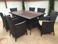 Homebase Panama Garden Furniture Set - 6 Seater as new and ...