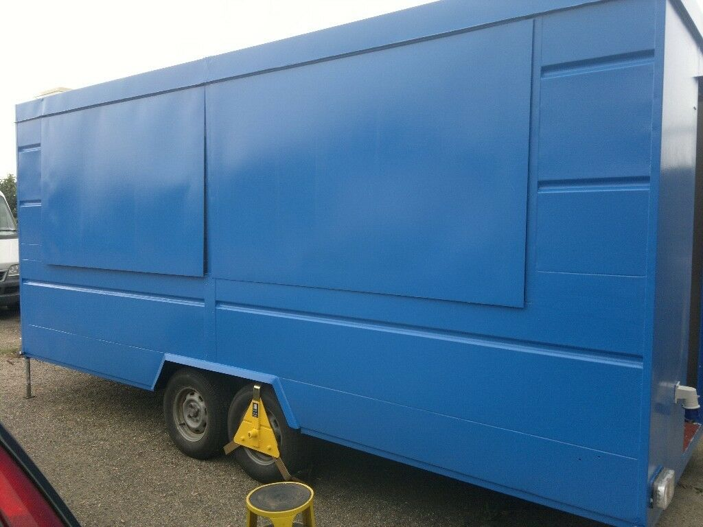 Wilkinson Catering Trailer Double Hatch Twin Axle Business