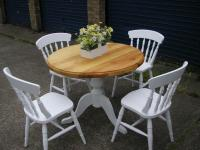 SHABBY CHIC TABLE AND CHAIRS | in Wickford, Essex | Gumtree