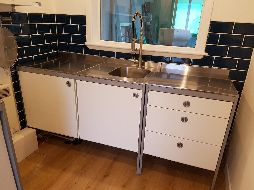 Udden Küche Ikea Ikea Udden Stainless Steel Freestanding Kitchen Unit With