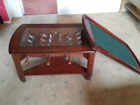 Wooden Games coffee Table With Table Cover Football Game ...