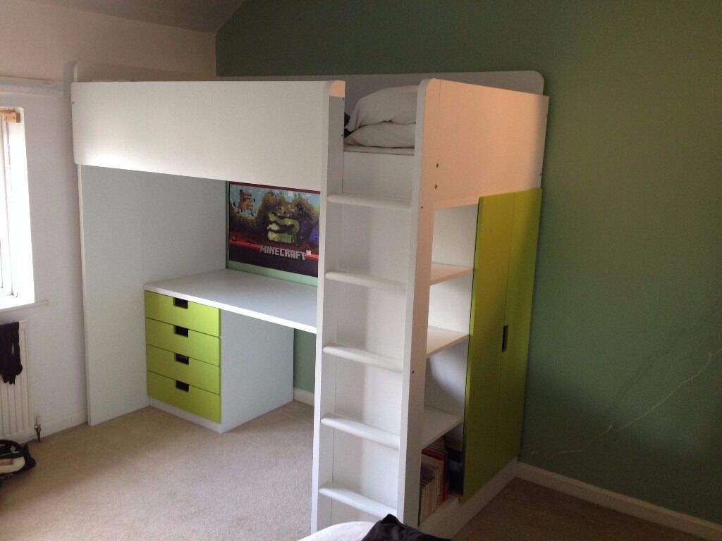 Ikea Hacks Stuva Ikea Stuva Loft Bed Combo With 4 Drawers And 2 Doors In