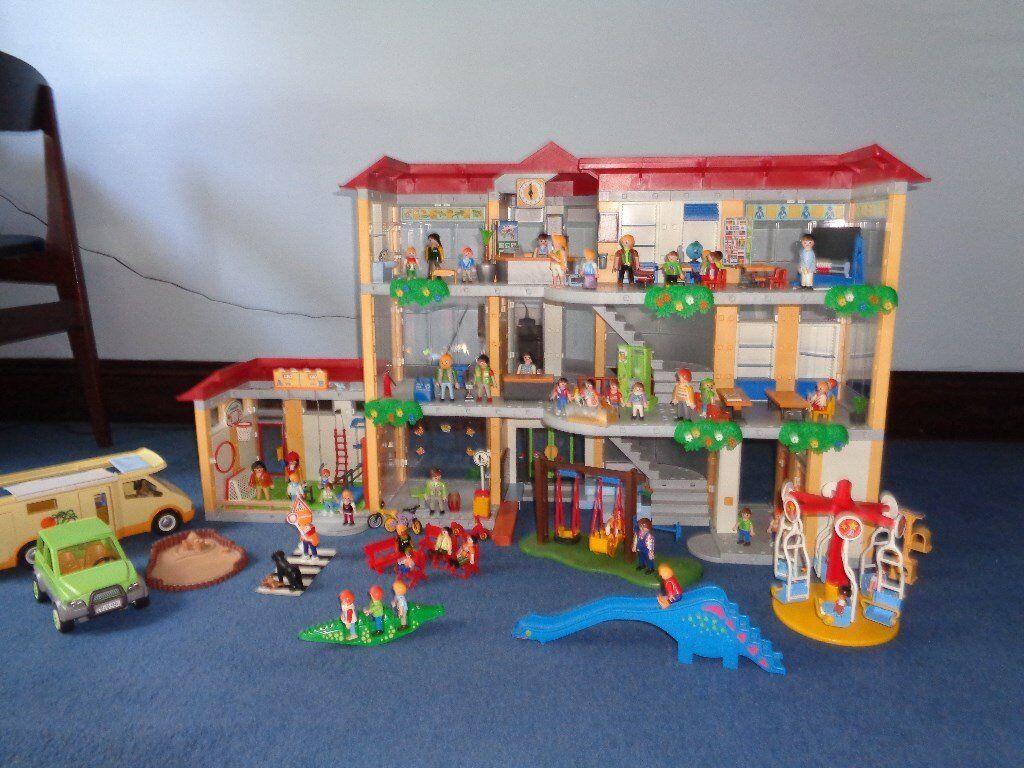 Salon Playmobil Maison Moderne   Chambre Élégant Chambre Playmobil ...