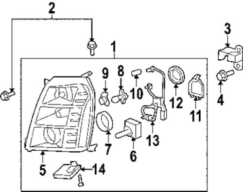 2007 cadillac escalade engine diagram