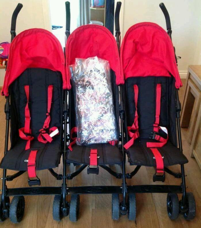 Egg Stroller Footmuff How To Use O 39;baby Triple Stroller In Barry Vale Of Glamorgan Gumtree