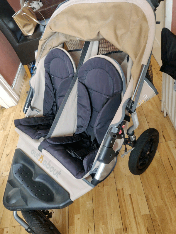 Babyzen Stroller Instructions Cream Out N About Double Under Storage Basket And Rain