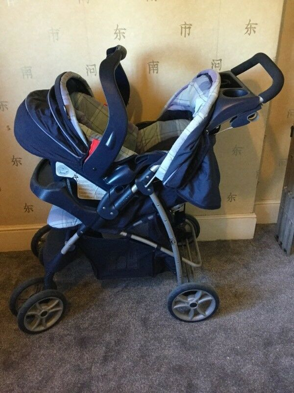 Double Pushchair With Buggy Board Graco Pushchair Car Seat And More In Erdington West