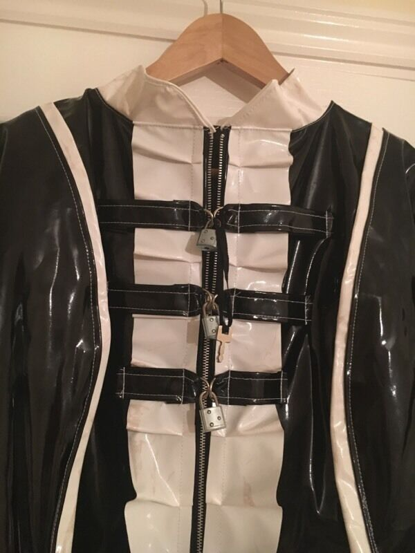 Sideboard Xxl Male Sissy Lockable Maid Outfit And Corset Xxl £50 Ono