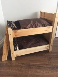 Wooden cats small pet cat bunk beds pet bed | in Plymouth ...