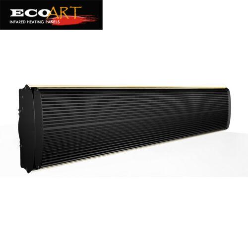 Infrared Bathroom Heater Panel Fan Heater Panel Dual 1500w