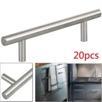 Stainless Steel T bar Modern Kitchen Cabinet Door Handles ...