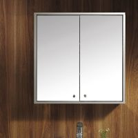 Stainless Steel Wall Mounted Bathroom Storage Cabinet ...