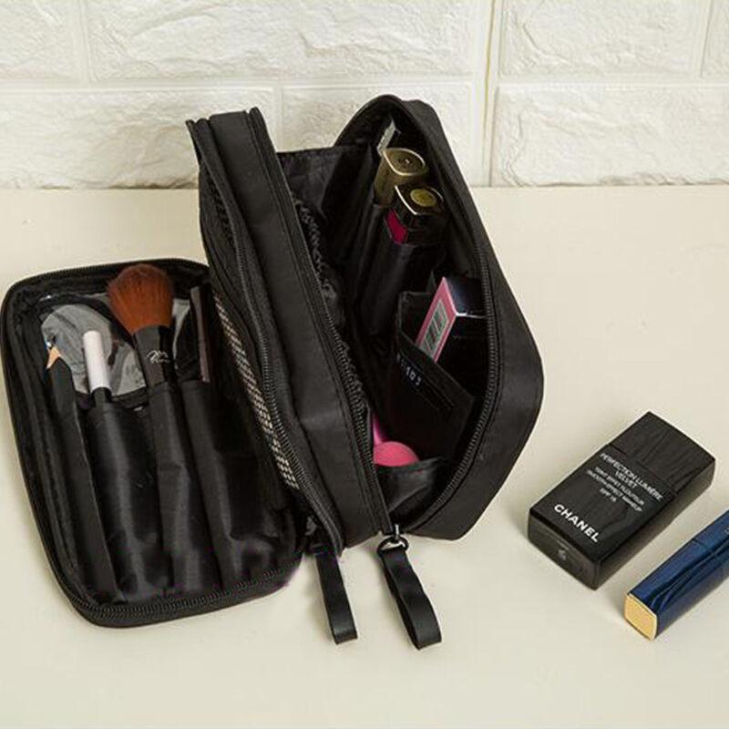 Cosmetic Travel Makeup Brush Handbag Case Brush Holder