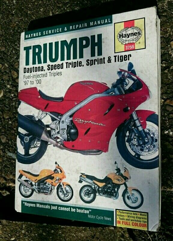 Triumph Daytona T595 Wiring Diagram Triumph Thruxton Wiring Diagram